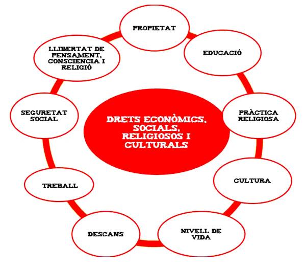 Drets econòmics, socials, religiosos i culturals