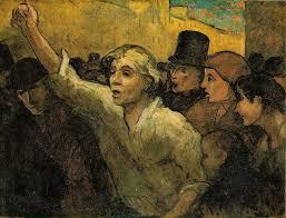 Honoré Daumier. La insurrecció, 1860.