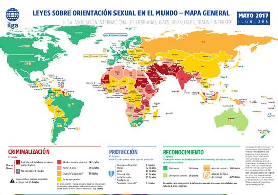 Imatge Leyes sobre orientación sexual en el mundo