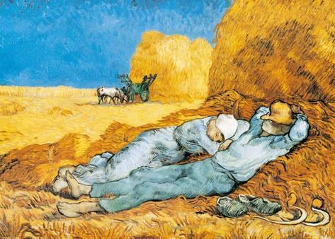 Van Gogh, V. Descans al migdia, 1890.