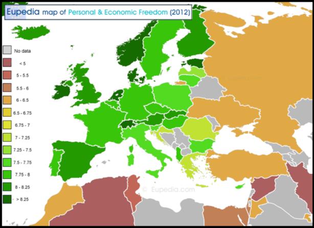 Mapa interactiu sobre la llibertat associació.
