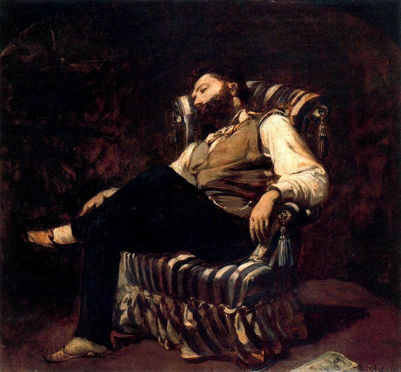 Ramón Casas Carbó, Repòs, 1899-1900.