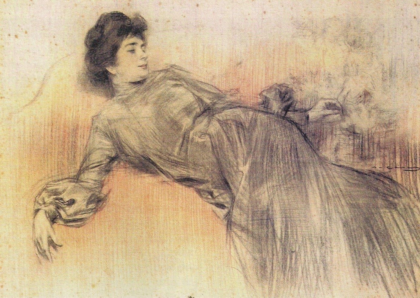 Ramón Martí Alsina, La migdiada, 1884.