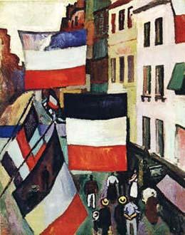Raoul Dufy. El carrer de les banderes (1906).