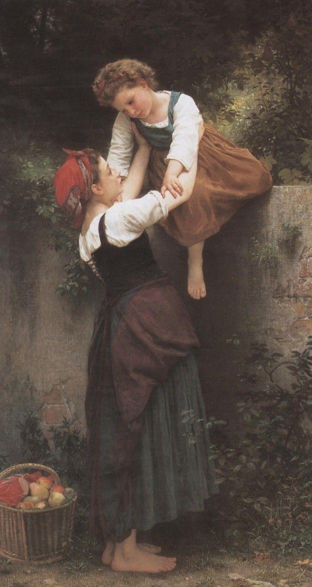 William-Adolphe Bouguereau. Lladregotes, 1872.
