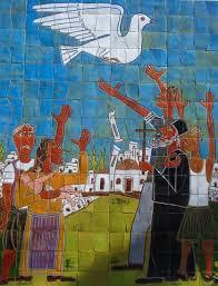 Paz, mural de Xipre.