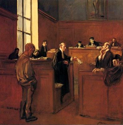 Jean-Louis Forain. Advocat i acusat, 1908