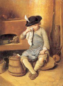 El nen castigat. Nicolas-Bernard Lépicié (1735-1784)