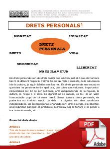 Bloc 1 - DRETS PERSONALS - PDF
