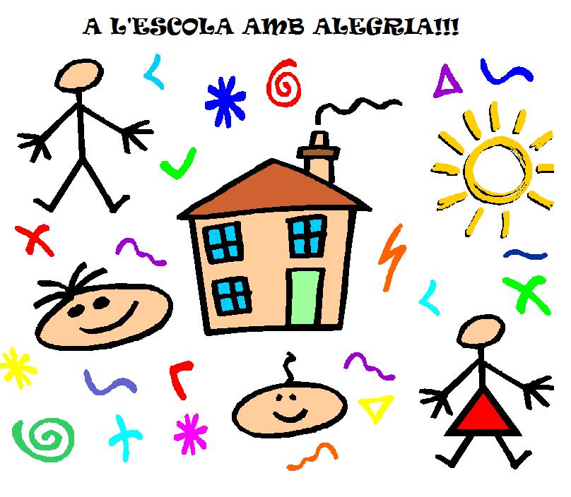 Resultat d'imatges de a l'escola amb alegria