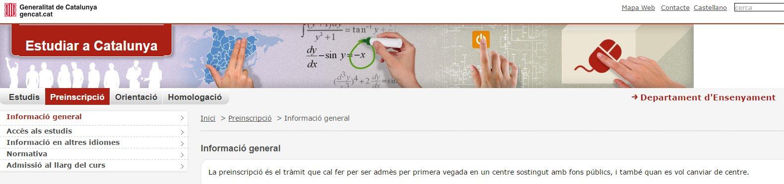 http://queestudiar.gencat.cat/ca/preinscripcio/informacio_general/