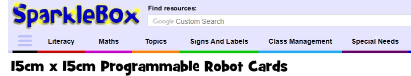 Beebots i Escornabots   Recursos d'Educació Especial
