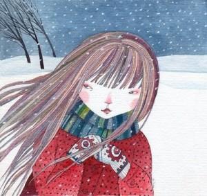 nena a l' hivern