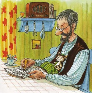 el abuelo, Sven Nordqvist