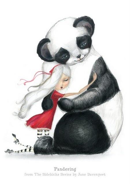 el abrazo del oso panda ,b osés, Jane Davenport