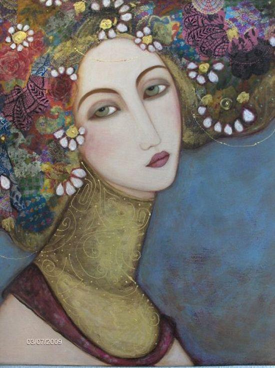 roses lluents,m. ginesta,Faiza Maghni