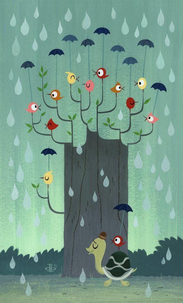 la gotita de lluvia ,alonso santamaria,drake brodahl