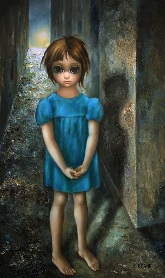 azul,beatriz osés,Margaret Keane