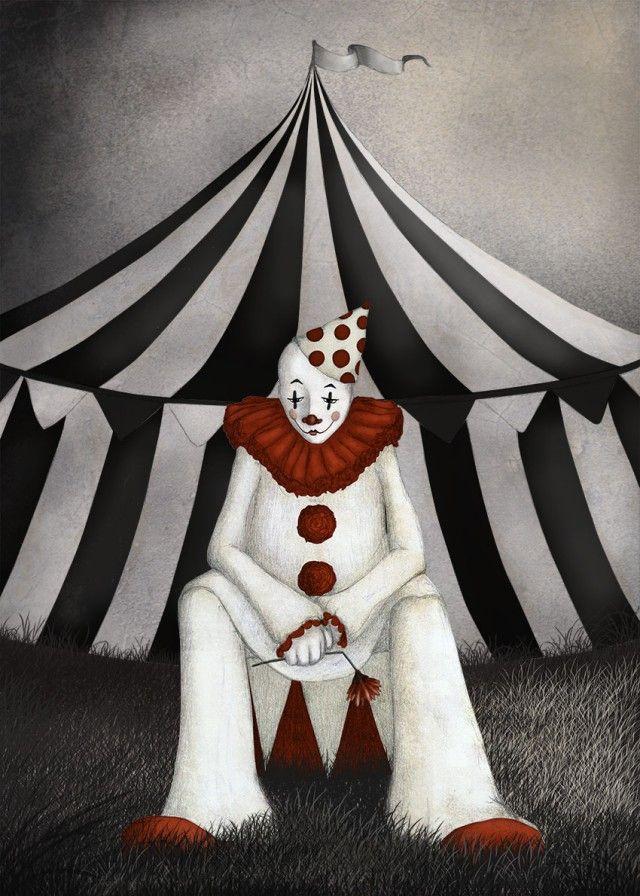 el clown, gloria fuertes,  Maja Lindberg