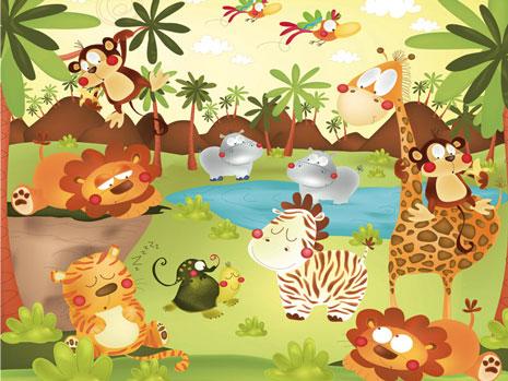 mural-animales