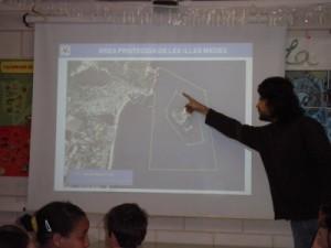 Delimitació de l'Àrea Protegida de les illes Medes