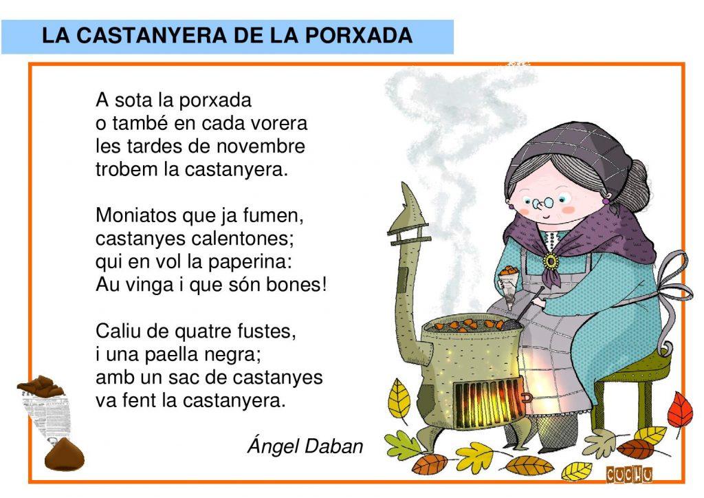 Poema: La castanyera