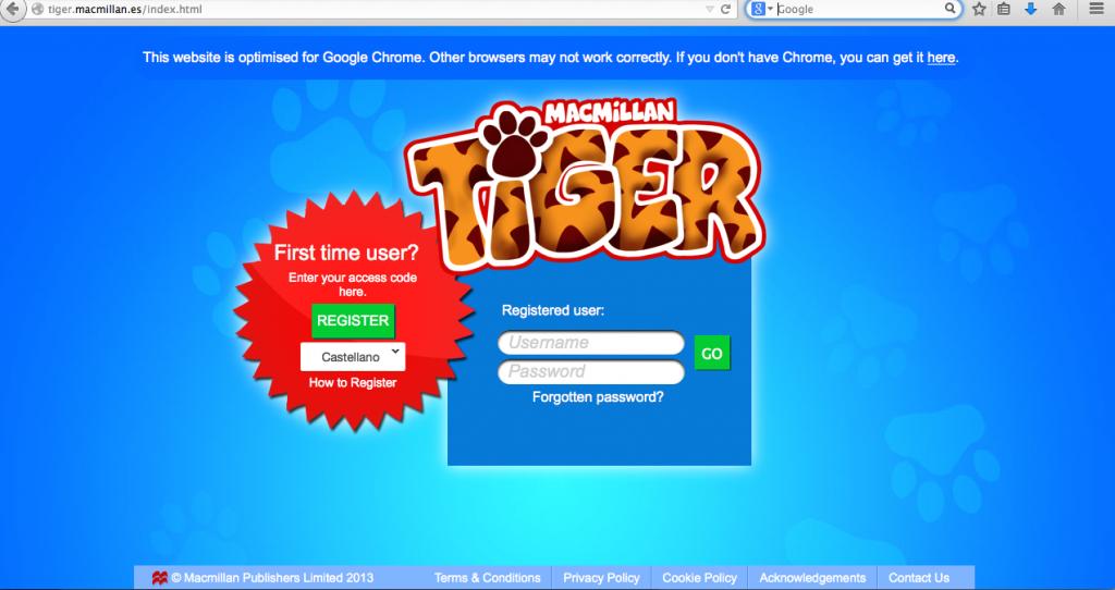 Macmillan tiger
