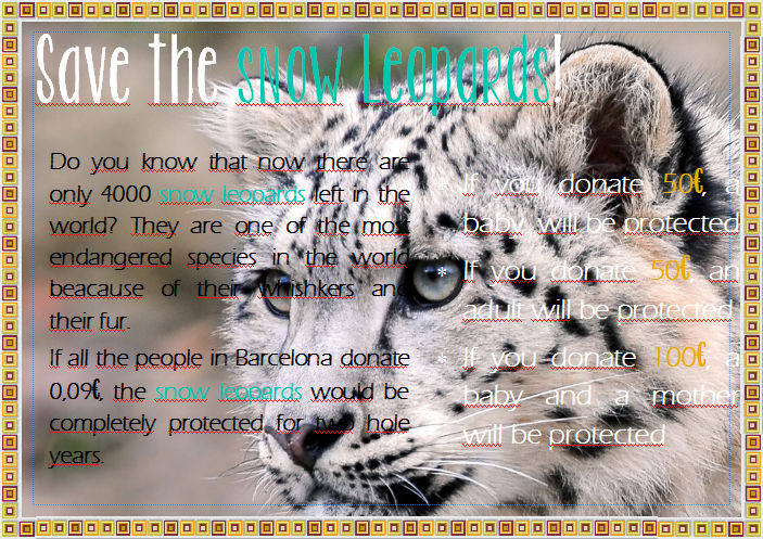 The snow leopard2