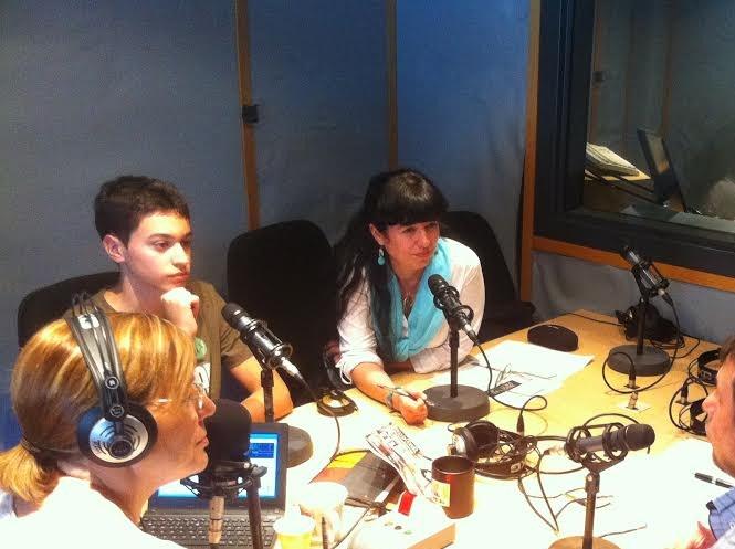 Arnau i Margalida a la ràdio