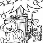 es-colorear-dibujos-imagenes-foto-regalos-debajo-del-arbol-p6433