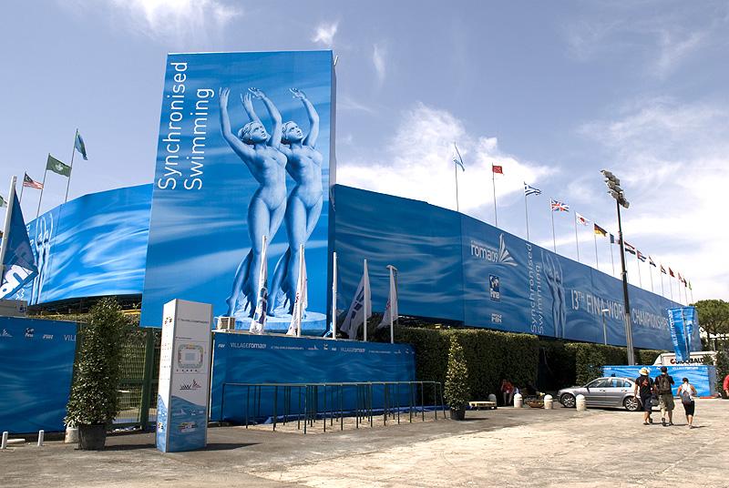 Mundial de natació Roma 2009