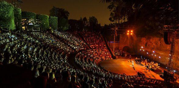 El teatre grec de Montjuïc