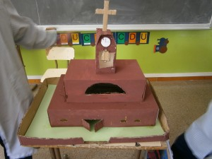 L' església de Noelia i Yoselin