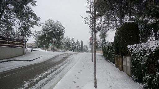Qué bonic tot nevat!!!