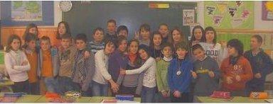 Alumnes de 5è del curs 2009-10