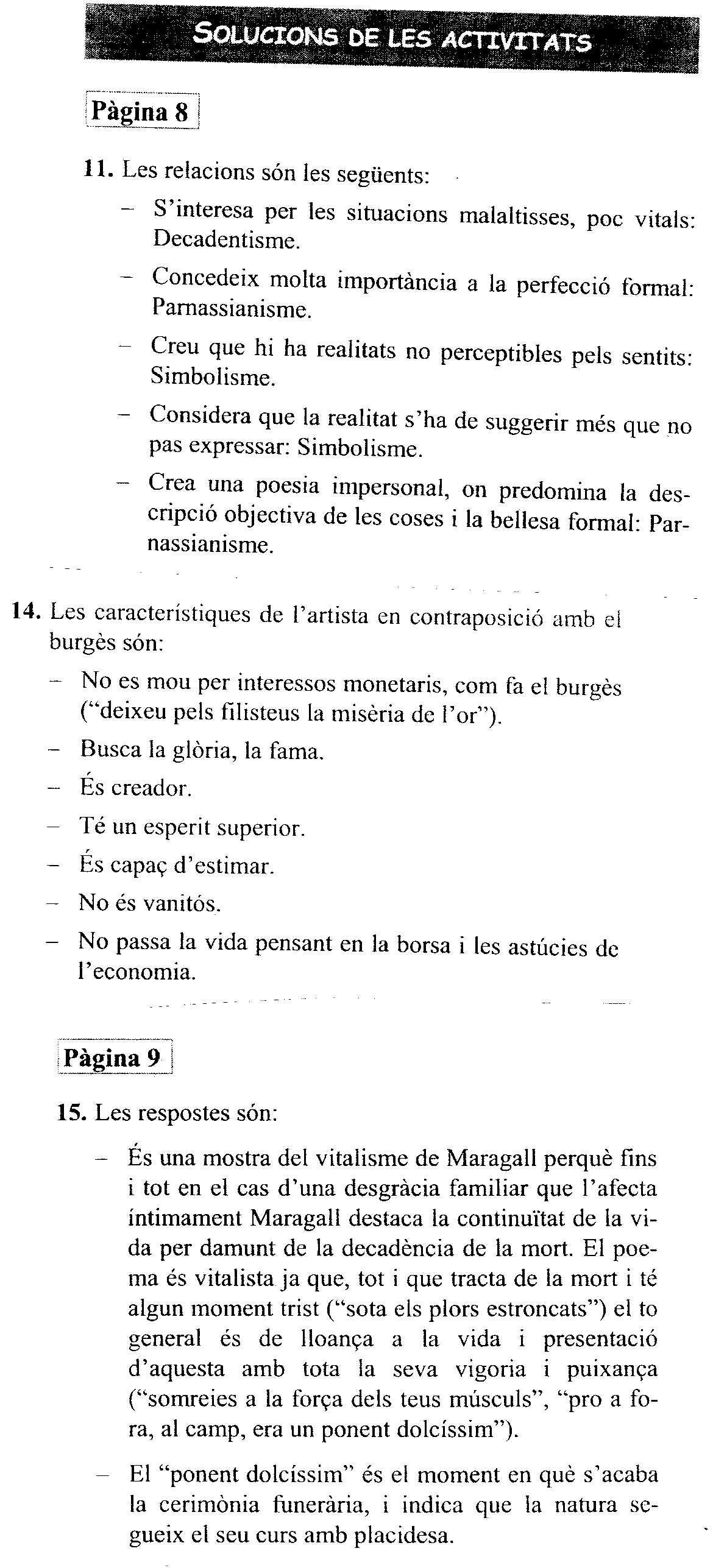 Quart d eso llengua i literatura - Oliveras quart ...