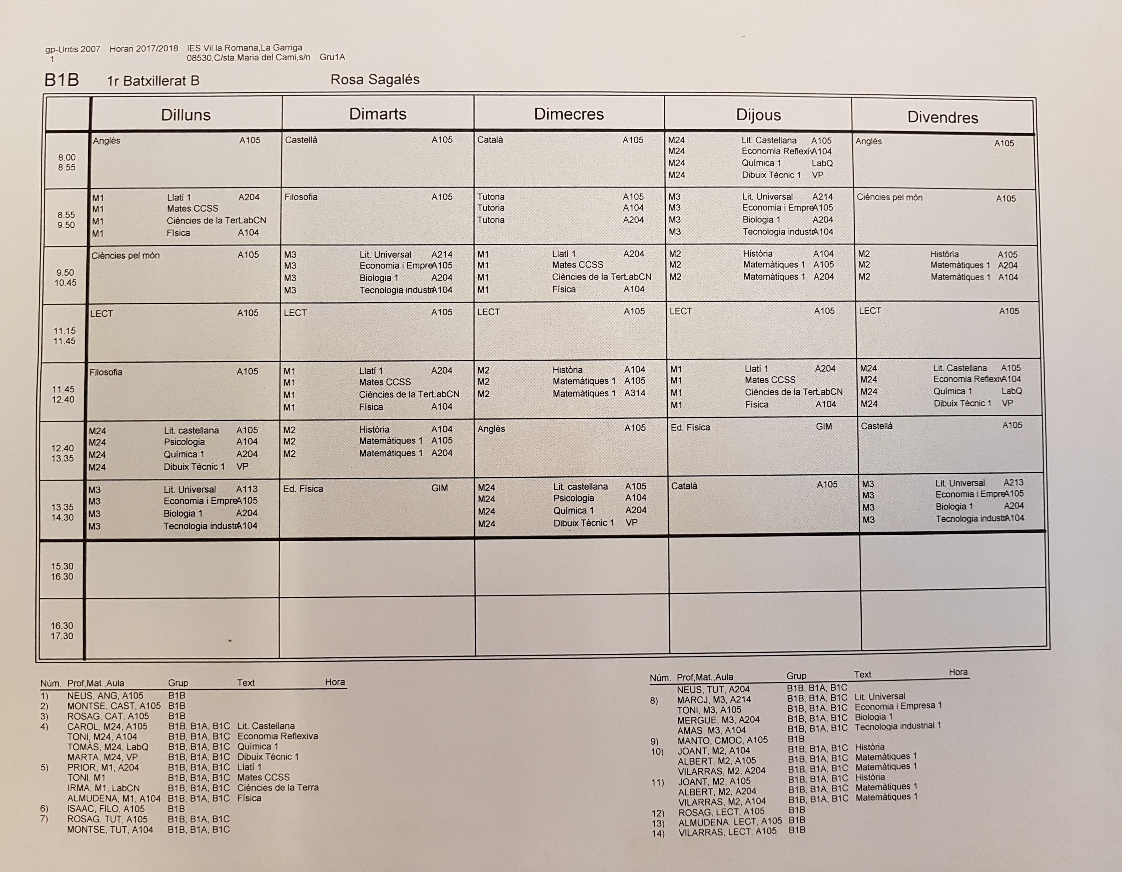 horari alumnes institut