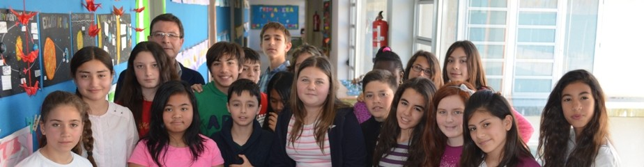 Classe de Sisè de l'Escola Saaveda