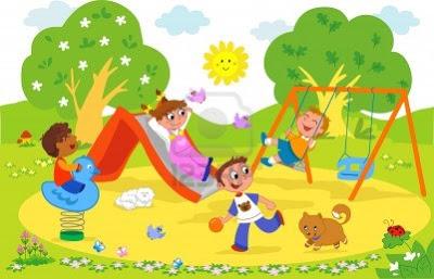 9707979-animacion-dibujo-animado-de-ilustracion-de-ninos-jugando-juntos-en-el-parque