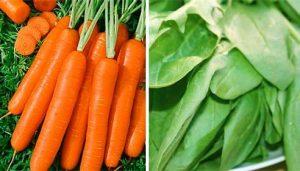 zanahoria-y-espinacas