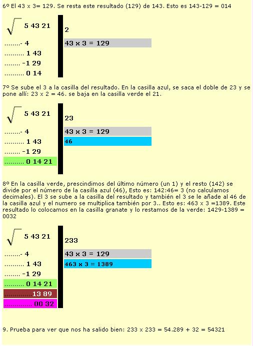 Arrel quadrada2