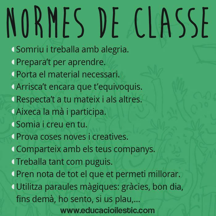 normes classe