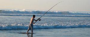 pescador platja