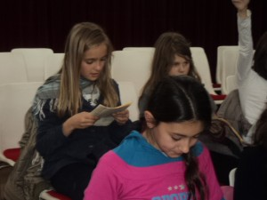 Tot llegint poemes del dossier. 19/01/2011.