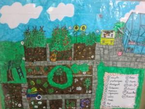 Els nens i nenes de Cicle Inicial ens dibuixen l'hort