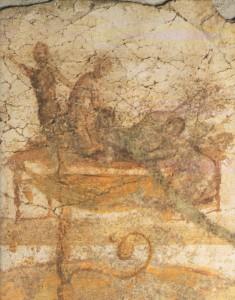Representació d'un quartet en un lupanar