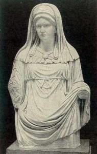 Vestal, deessa protectora de la llar.
