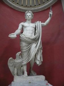 Estatua de l'emperador Claudi. Actualment es troba al Museu del Vaticà