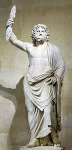 Júpiter. Actualment es troba al Museu del Louvre