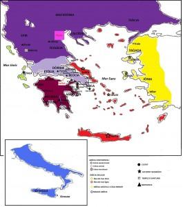 Mapa Grècia Antiga